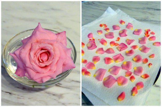 DIY Rose Jars