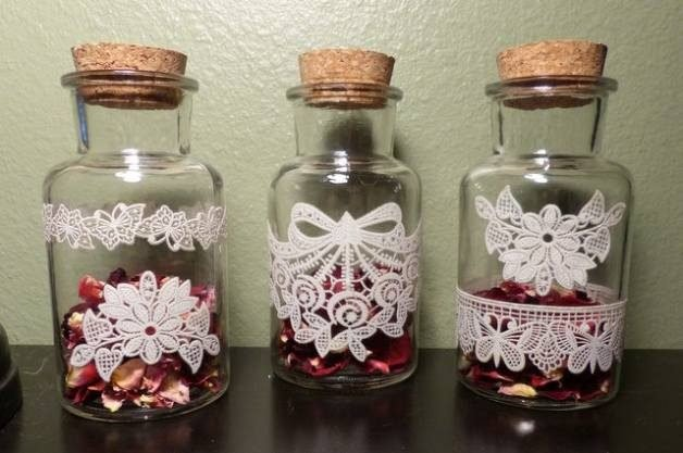 DIY Rose Jar