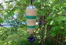 Twine Wrapped DIY Bottle Feeder