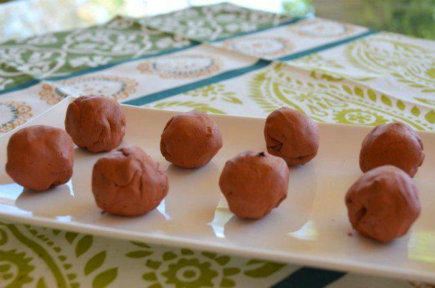 Newly made seed balls