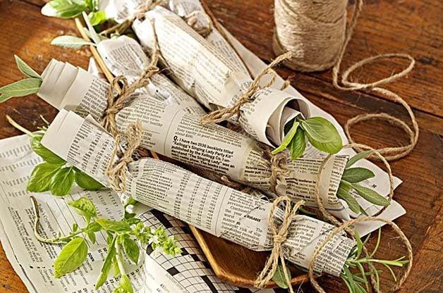 Drying Herbs