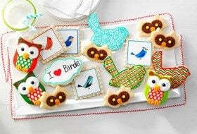 Bird-themed Holiday Cookies