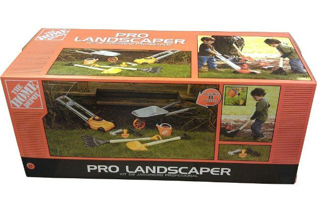 The Home Depot Pro Landscaper Garden Kit for Kids