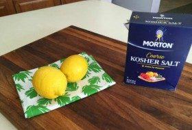 DIY Lemon Salt 5
