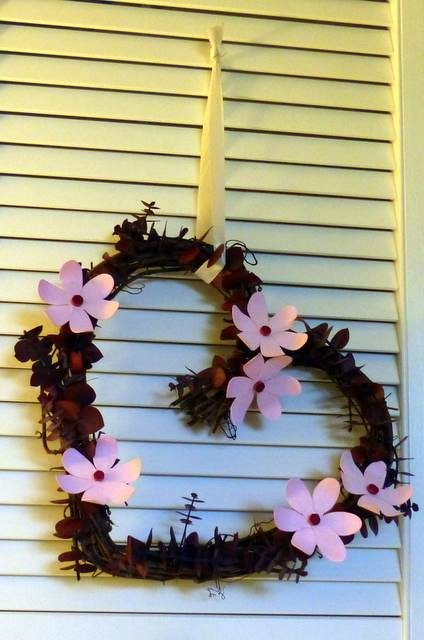 Valentine's Day Wreath Craft
