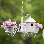 Chandelier Birdhouse and Planter