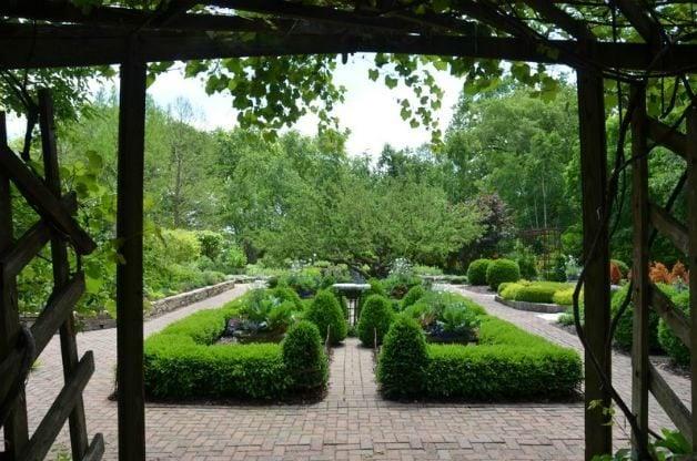 Olbrich Botanical Gardens in Madison, WI