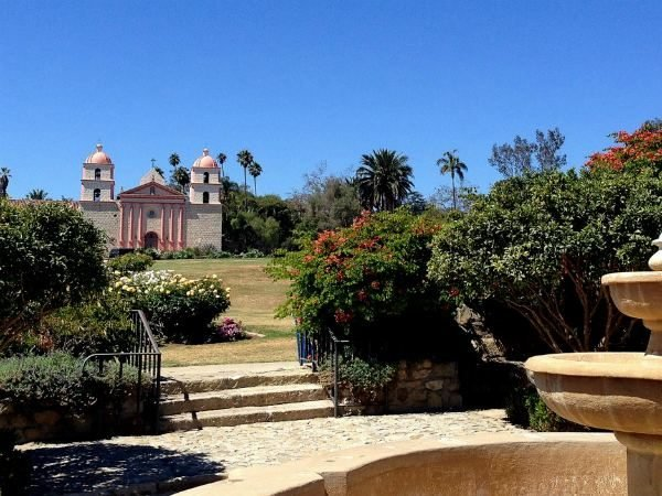 Santa Barbara Mission Gardens 6