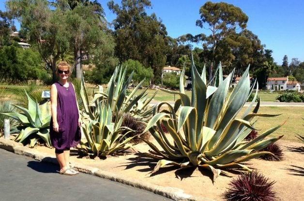 Santa Barbara Mission gardens 4