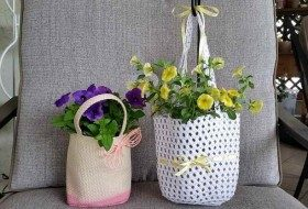 Spring DIY Potted Plant Gifts