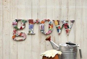 DIY Seed Packet Letters