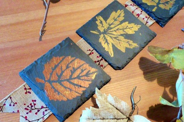 Fall Leaves DIY Home Decor Project 2
