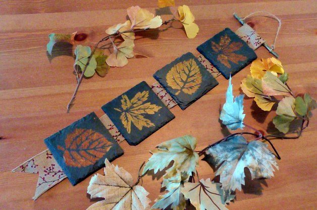 Fall Leaves DIY Home Decor Project
