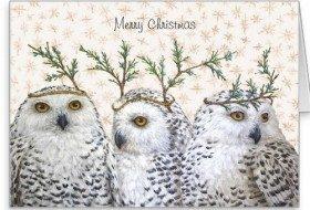 Bird Themed Christmas Cards 2015