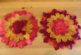 Fall Leaves DIY Placemats