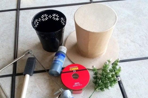 Top Hat DIY Plant Gift