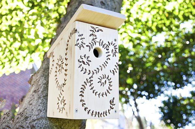 Birdhouses how to build a birdhouse birds blooms wondering how to build a birdhouse our diy birdhouses will add color to your yard and provide a safe haven for the friendly fliers in your backyard solutioingenieria Gallery