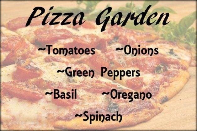 Themed Vegetable Gardens Pizza