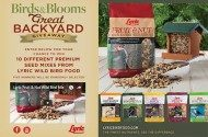Lyric Wild Bird Food Giveaway