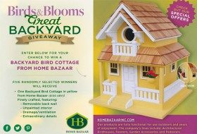 Win a Cottage Birdhouse