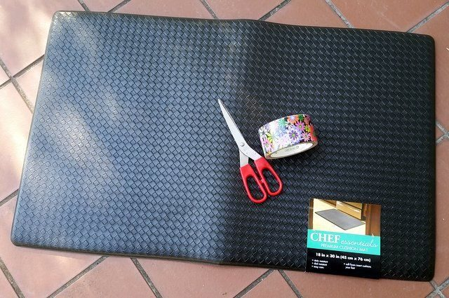 DIY Garden Kneeling Pad Materials