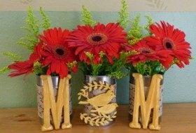 Mother's Day DIY Vase or Planter Trio