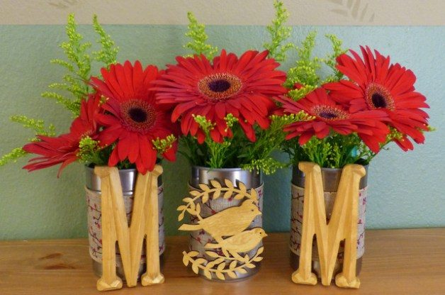 Mother's Day DIY Vase or Planter Trio | DIY Mother's Day Gifts on mothers day food gift, flower bouquet gift, flower arrangements gift, funeral flowers gift, silk flowers gift, congratulation flower gift, flower delivery gift, mothers day florist, birthday flowers gift, happy mother's day gift, funny flower gift, corporate flower gift, mothers day gift ideas, fathers day gift, mothers day gift baskets, mothers day roses, engagements flower gift, anniversary flowers gift, mothers day bouquet, halloween flower gift,