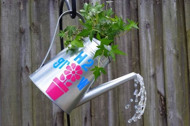 Watering Can Planter Project