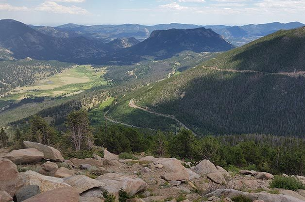 Scenery and Birding in Rocky Mountain NP