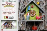 Backyard Birds Cuckoo Clock giveway