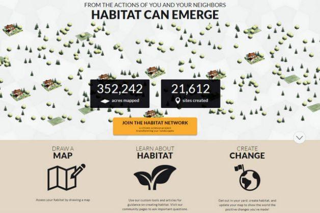 Bird-Friendly Yard Habitat Network