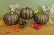 Pumpkin Craft Dollar Store Makeover
