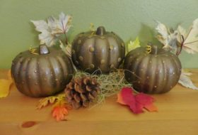 Pumpkin Craft: Dollar Store Makeover