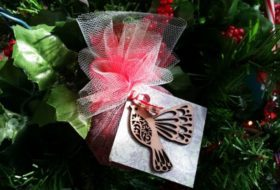 Bird Seed Ornaments for Good Luck
