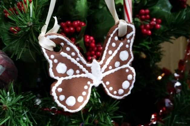 Gingerbread Butterfly Ornaments | DIY Christmas Ornaments