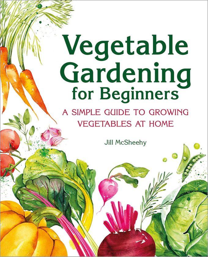 vegetable gardening book