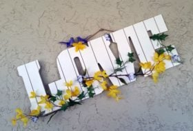 Springtime Love DIY Wall Decor
