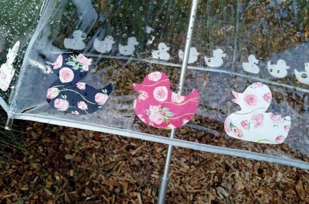 Rubber Duckie Umbrella Craft 2