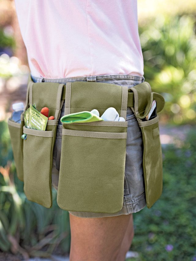 Canvas Gardening Tool Belt