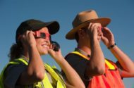 Wildlife Watching During Solar Eclipse Neal Herbert NPS