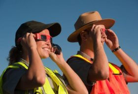 Wildlife Watching During the Solar Eclipse