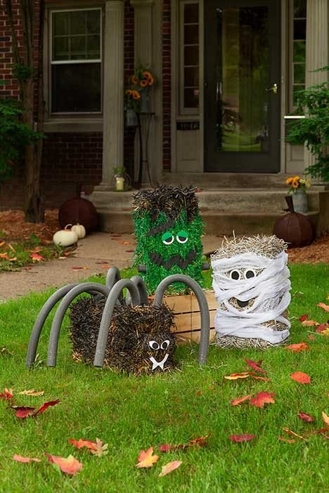 How To Make A Halloween Haystack Birds And Blooms
