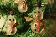 DIY Snowman Ornament and Seed Gift