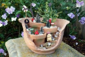 Decorate Your Fairy Garden for Christmas