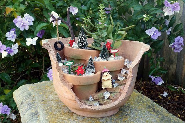 Decorate Your Fairy Garden For Christmas Mini Gardens