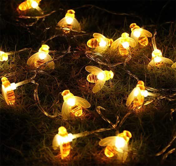 bumblebee fairy lights