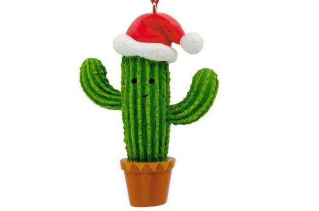 Nature Ornaments Cactus Hallmark