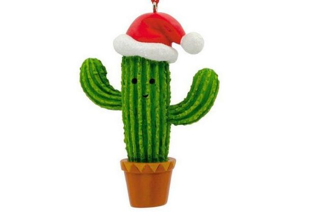 Nature Ornaments Cactus Hallmark