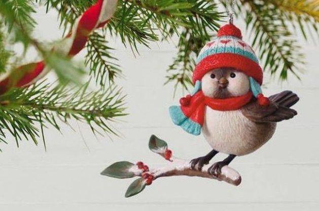 Nature Ornaments CuteBird Hallmark