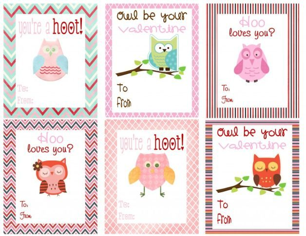 Bird Lovers Valentine Cards Deal Wise Mommy